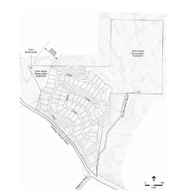 Saddle Crest Tract Map
